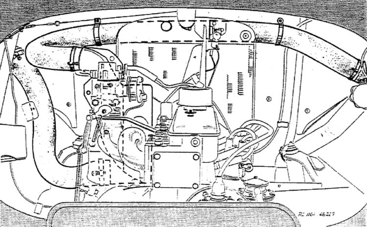 renault 4cv engine wiring diagram and parts diagram images